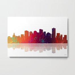 Skyline Edmonton 1 Metal Print