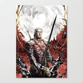 The witcher Ⅴ Canvas Print