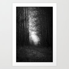 In the deep dark forest... Art Print