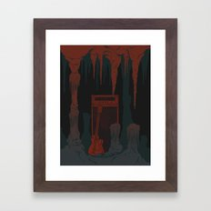 The Cavern Framed Art Print