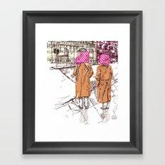 Edgware Road Framed Art Print