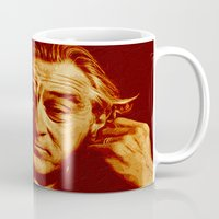 robert farkas Mugs featuring master robert by noblackcolor