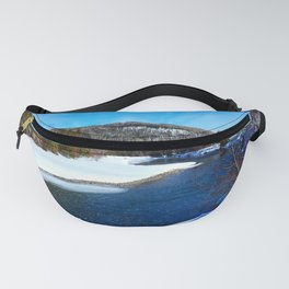 Salmon River in Spring Fanny Pack