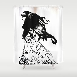 Tribute to Miguel Hernandez #4 Shower Curtain