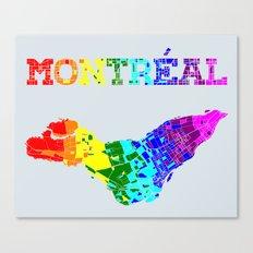 Montréal Canvas Print