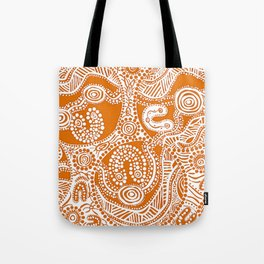 Bloodlines - Burnt Country Tote Bag