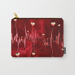 heart rate Carry-All Pouch