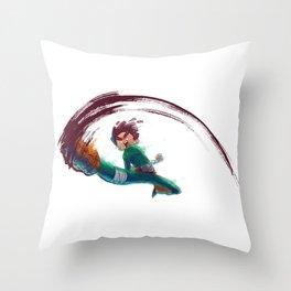 Rock Lee Throw Pillow