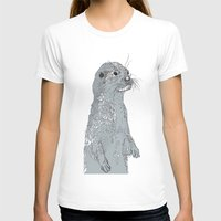 otter T-shirts featuring Otter by caseysplace