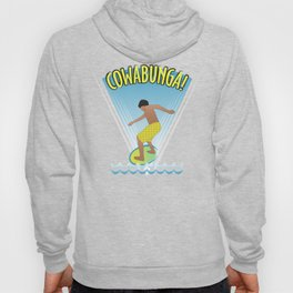 Cowabunga Flow-boarding Pop Art Hoody
