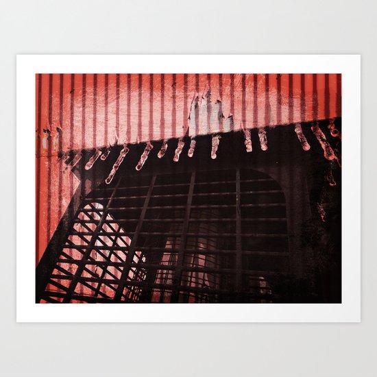 Electric Chill  Art Print