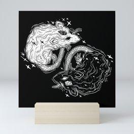 MYSTICAL RATS Mini Art Print