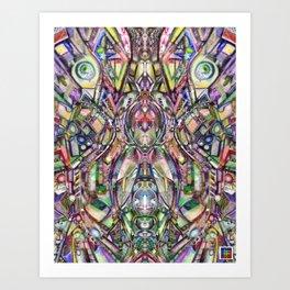 The World Peace Machine Art Print