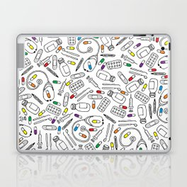 Hospital Pattern Laptop & iPad Skin