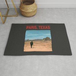 Paris Texas Illustration by Wim Wenders Rug