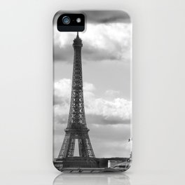 Eiffel Tower from rooftop of Galeries Lafayette iPhone Case