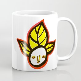 Yellow Leaf Babe Coffee Mug
