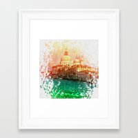 venice Framed Art Prints featuring Venice by GingerRogers
