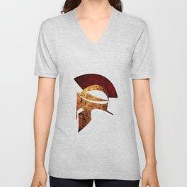 Spartan warrior Unisex V-Neck