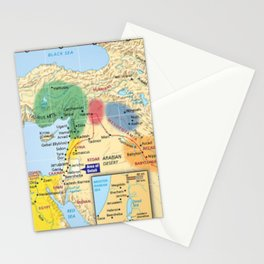 The Ancient Near East 1800 to 1400 B.C. Stationery Cards