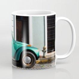 Green old car Coffee Mug