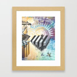 On The Other Side Of Wastelands - Skyward Framed Art Print