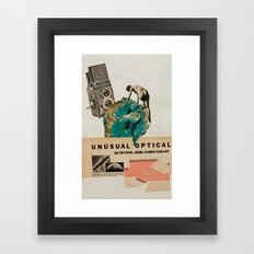 Unusual Optical  Framed Art Print