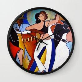 Muy Caliente Wall Clock