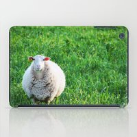 sheep iPad Cases featuring Sheep by L'Accent Nou by Anastasia Egorova