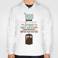 doctor who Hoodies featuring Doctor Who by Ashley