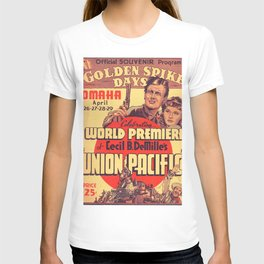 Vintage poster - Union Pacific T-shirt