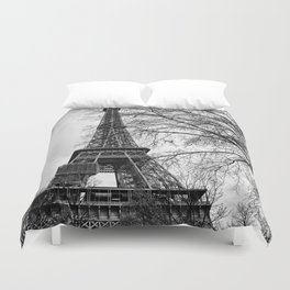 Eiffel tower Paris Duvet Cover