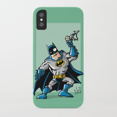 Another Strong man in a super hero costume Slim Case iPhone X