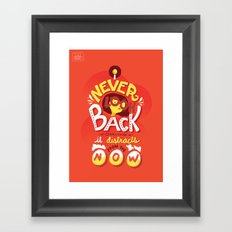 Edna Mode Framed Art Print