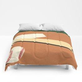 LA Baseball Field Comforters