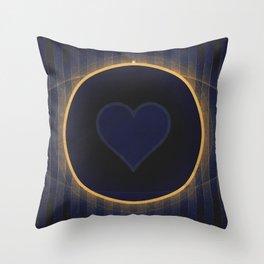 Pluto - The Heart Throw Pillow