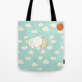 Balloons that Fly Tote Bag