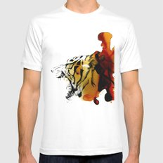 Tiger, Tiger Mens Fitted Tee White MEDIUM