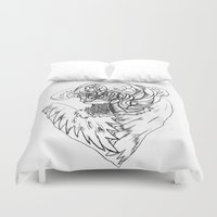 wave Duvet Covers featuring Wave. by sonigque