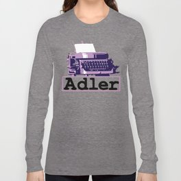 Adler Typewriter Long Sleeve T-shirt