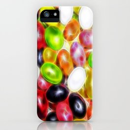 jellybeans candy fractalius iPhone Case