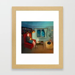 The First Rain Framed Art Print