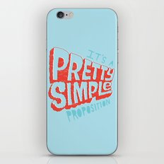 Pretty Simple iPhone & iPod Skin