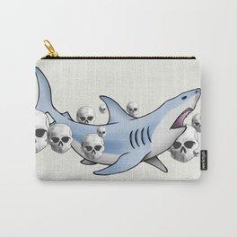 Shark & Skulls Carry-All Pouch