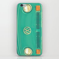 vw iPhone & iPod Skins featuring Groovy VW by RDelean