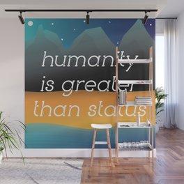 humanity Wall Mural