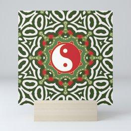 Holiday Festive Balance Yin Yang Mini Art Print