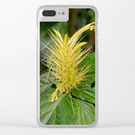 Canary Spurs Clear iPhone Case