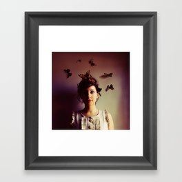 Hush Framed Art Print
