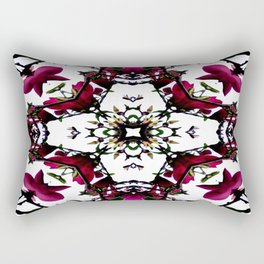 Thorny Issue Abstract Pattern Rectangular Pillow